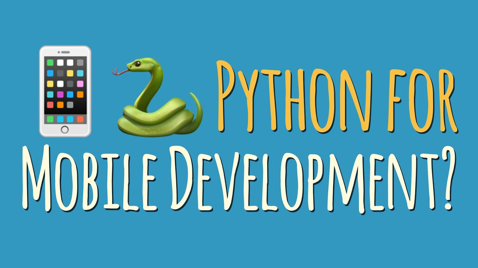 what is mobile application with Python