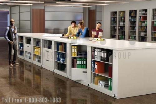 Workspace Collaboration Storage Tables | Dual Purpose Office Furniture