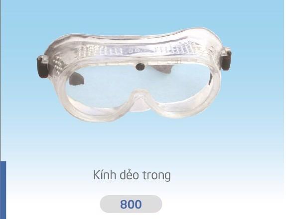 Kính bảo hộ Long Châu bằng nhựa trong