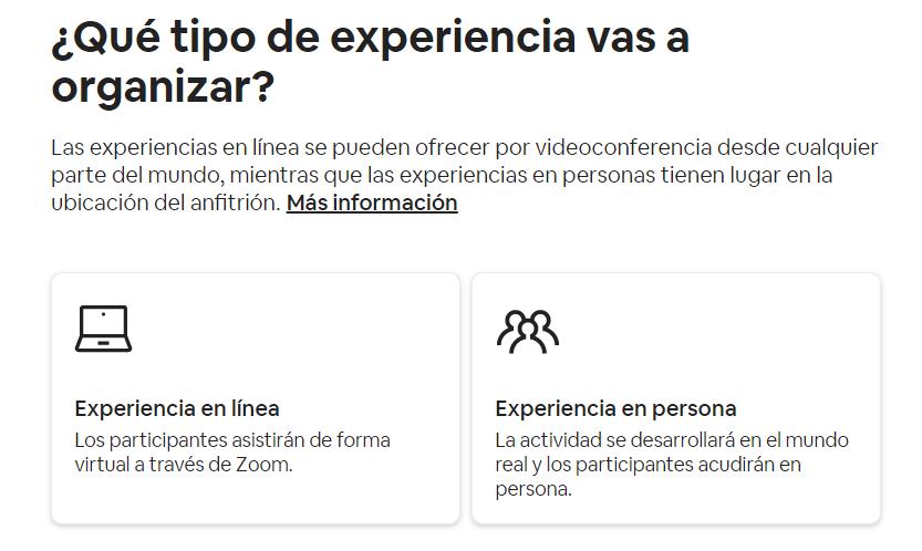 Cómo ganar dinero con Airbnb sin tener una casa creando experiencias online y en presona