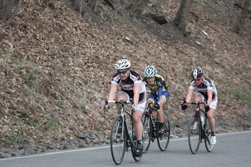 Kate Wymbs joins the breakaway