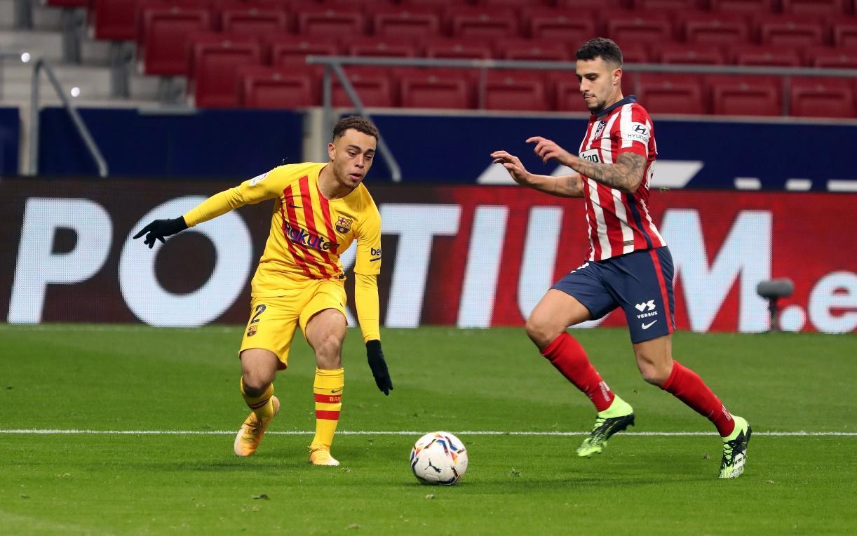 Barcelona từng thua Atletico Madrid 0-1 ở trận lượt đi mùa này.