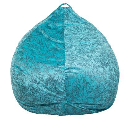 Nest Bedding Velvet Bean Bag Chair