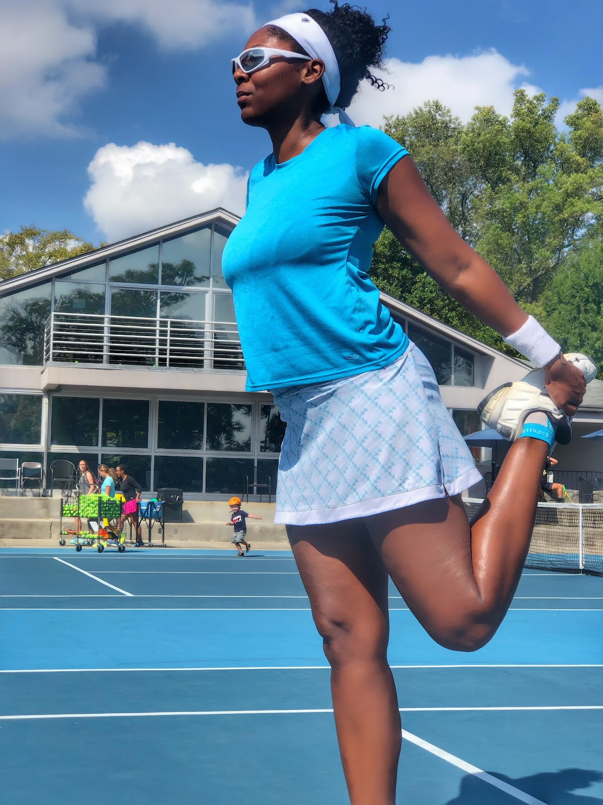 learn adult tennis