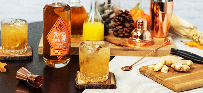 Painted Stave Distilling's Spiced Maple Smash