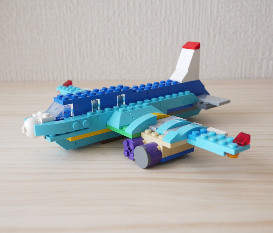 Lego How To Build Lego Building Airplane By Only Using Classic10698