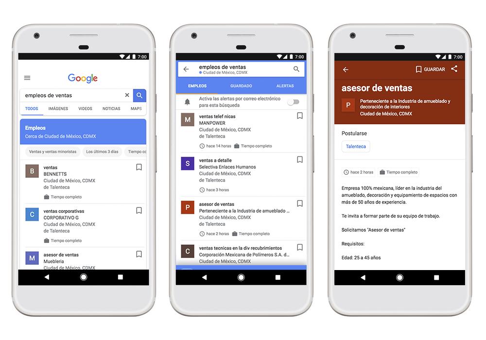Google te ayudará a encontrar el trabajo de tus sueños de la manera más