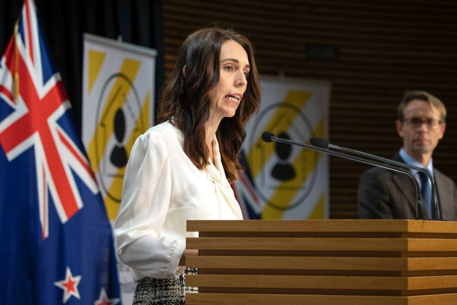 acinda Ardern at a press conference - ABC News (Australian ...