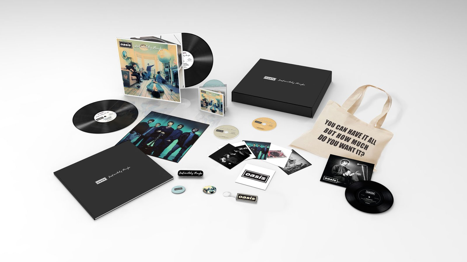 Oasis | Definitely Maybe | Reissue | Tracklist | Release Date | 20 Year Anniversary | Record Store Day