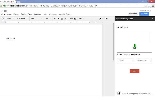 Speech recognition google docs add on for Google docs voice dictation
