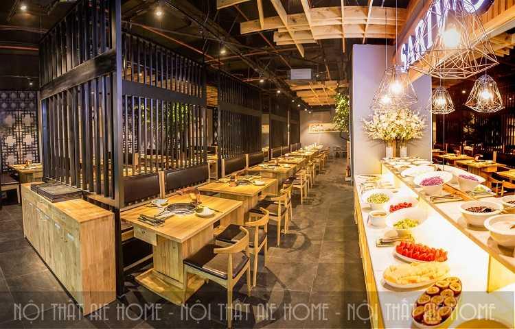 Thiết kế nhà hàng Sariwon