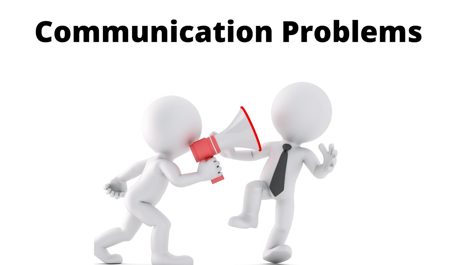 Communication skills training and problems