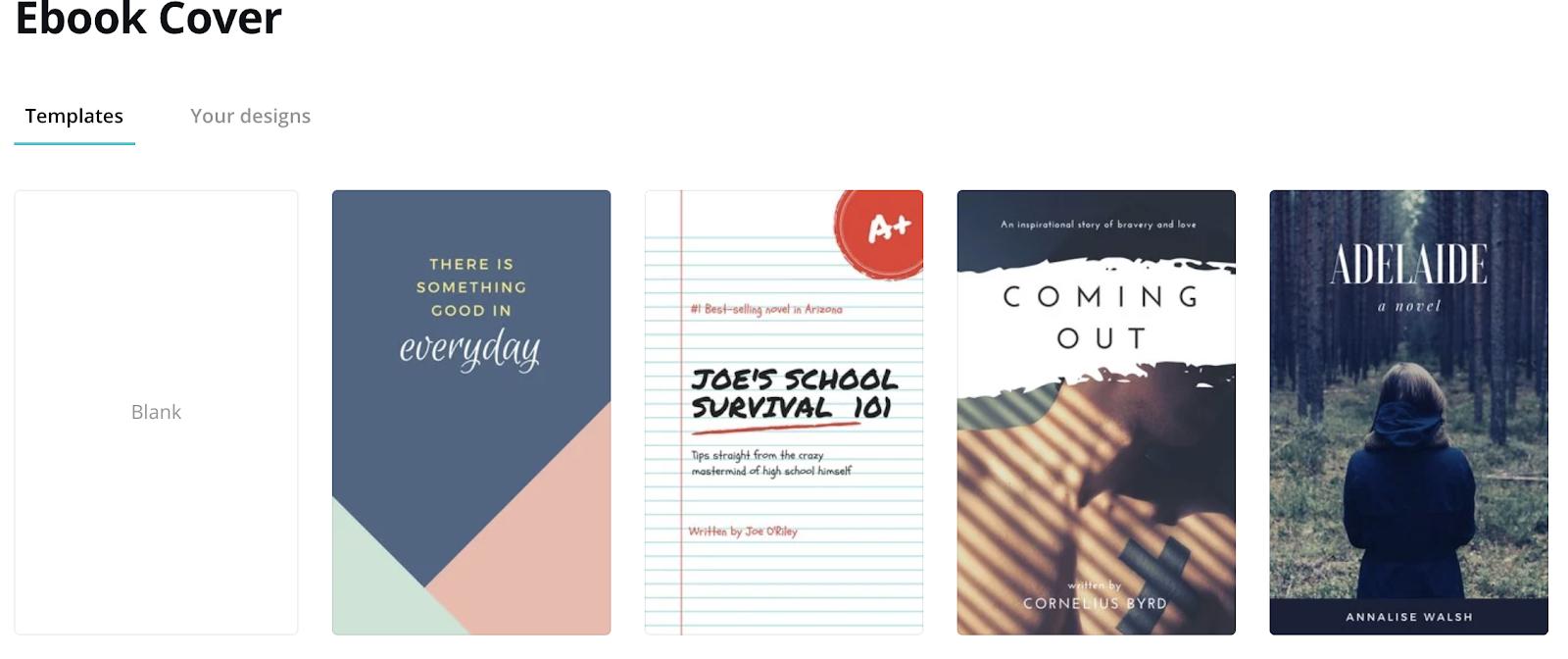 canva ebooks