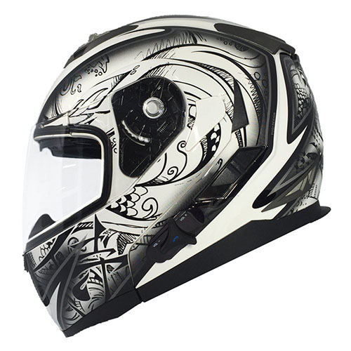 8. ILM Bluetooth Motorcycle Helmet