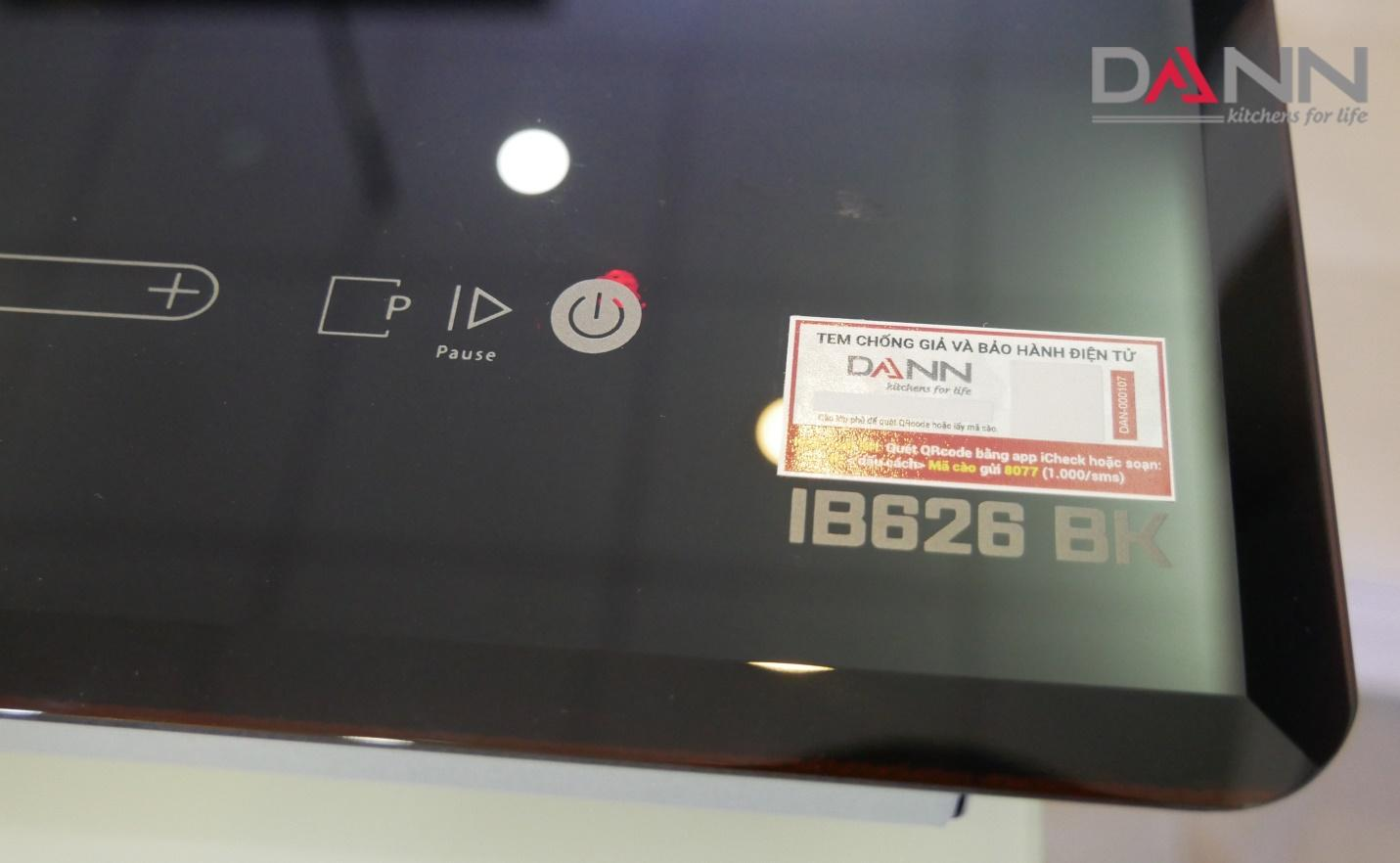 Bếp từ Dann IB 626BK nhập khẩu nguyên chiếc từ Malaysia có đáng mua? - ảnh 1