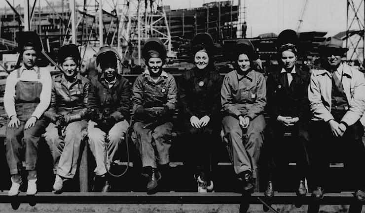 Women Welders WWII