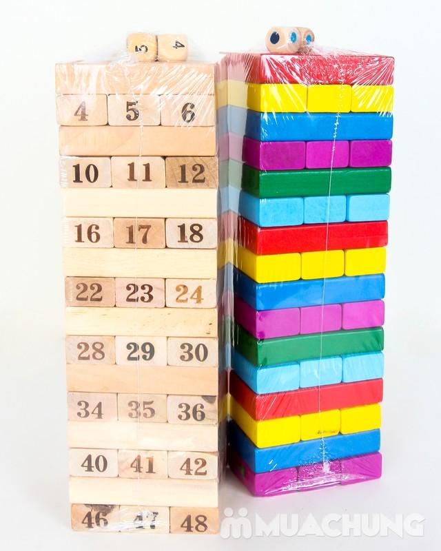 Rút gỗ 48 thanh mầu sắc cho bé - 5