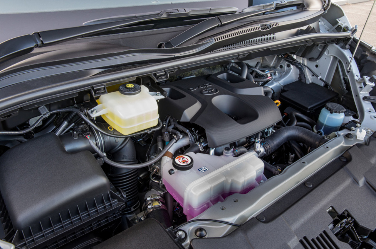 Hiace 2019 engine