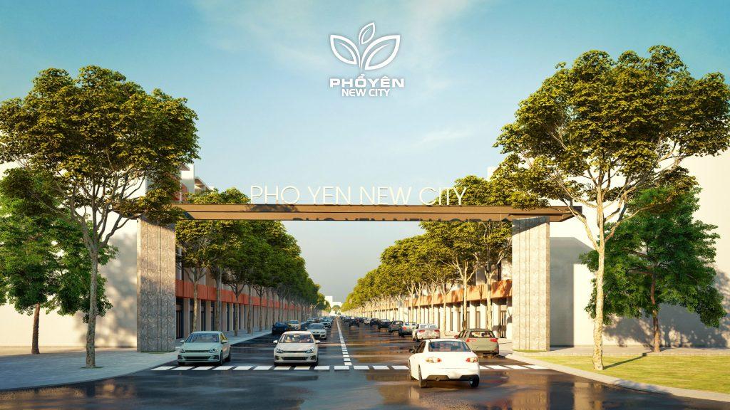 Dự án New City | KDC Đông Tây Phổ Yên Thái Nguyên