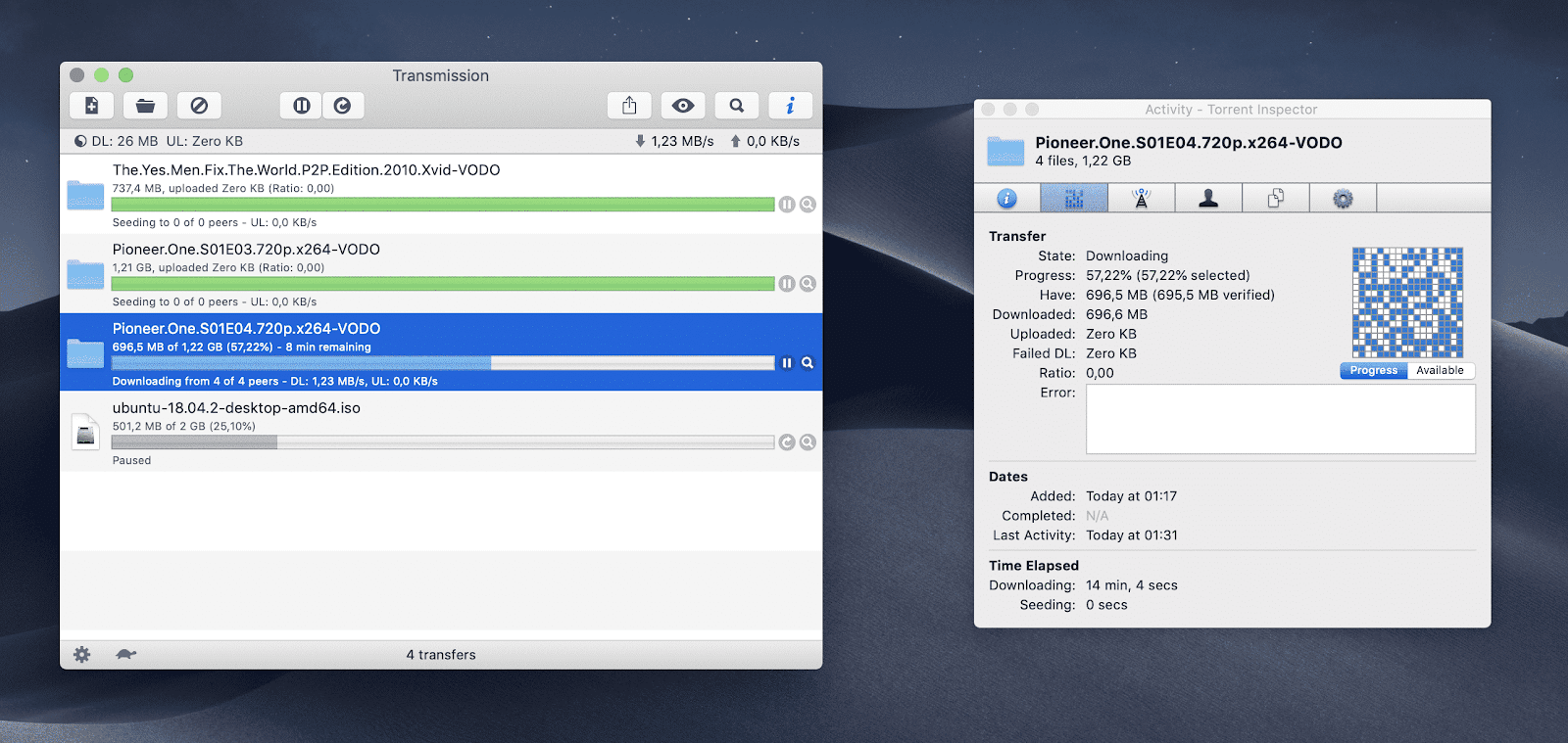 Transmission for Mac