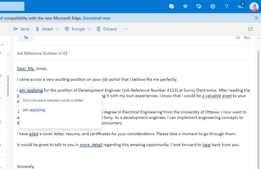send outlook emails