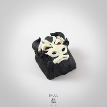 Artkey - Bull - Skull