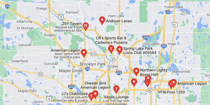 bingo trivia twin cities locations