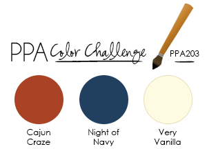 A Ginger Snap! PPA 203 Color Challenge!