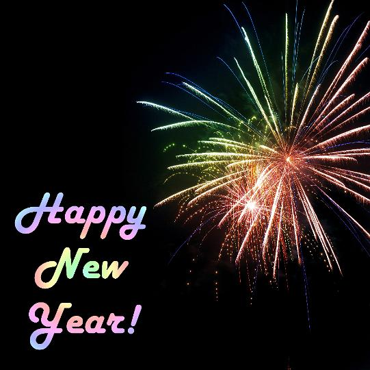 to welcome in the new year