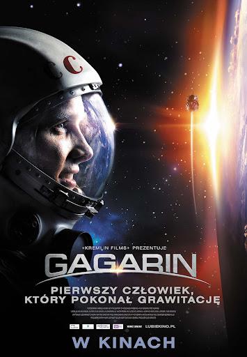 Polski plakat filmu 'Gagarin'