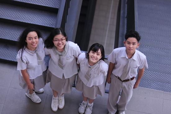 Thiết kế đồng phục trường Định Thiên Lý ấn tượng, độc đáo