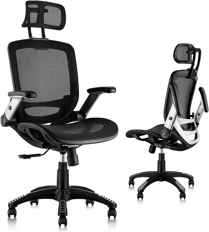 mesh office chair for animators