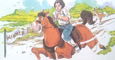 घोड़े की जीत short moral story in hindi for class 1