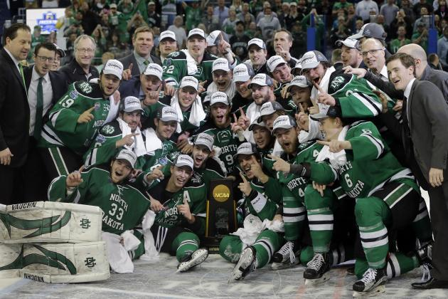 NCAA Hockey Championship 2016: UND vs. Quinnipiac Score and Twitter Reaction