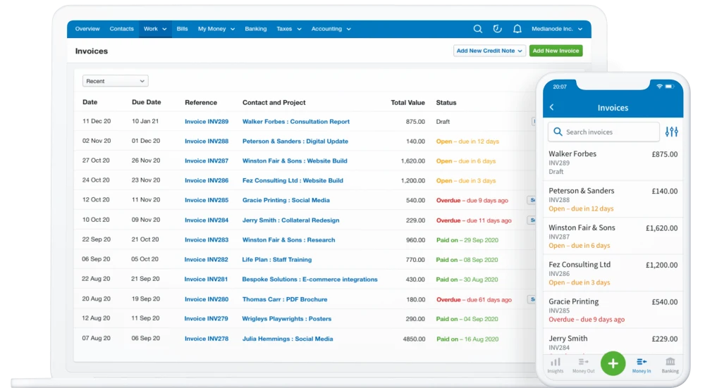 best accounting software for uk freelancers - freeagent