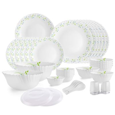 Cello Opalware Dazzle Tropical Lagoon Best Dinner Sets  In India