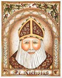 Saint Nicholas by Susan Seals