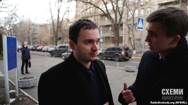 Власник Infiniti Руслан Соцький працює заступником начальника відділу організаційного та юридичного забезпечення робочого апарату укрбюро Інтерполу