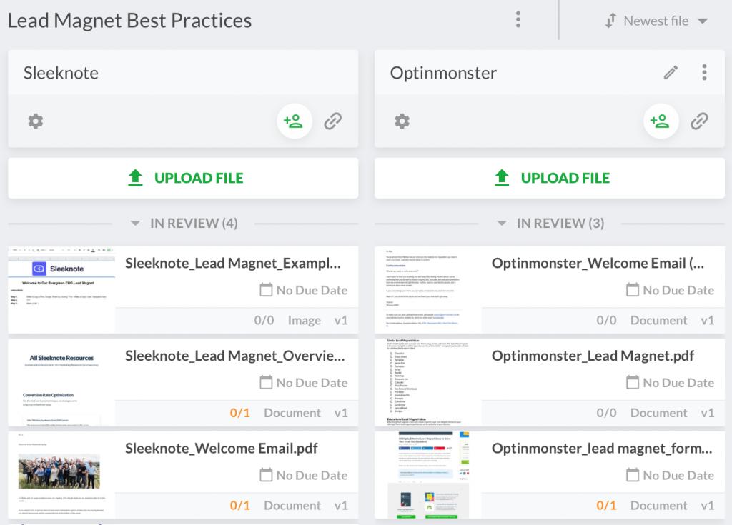 lead magnet best practices von filestage