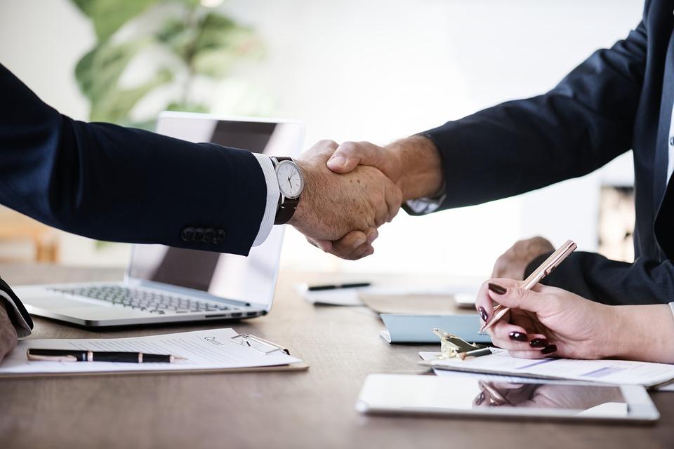 ビジネス, オフィス, 契約, 達成, 同盟, 事業契約, ビジネス上の取引, ビジネスマン, 共同作業を行う