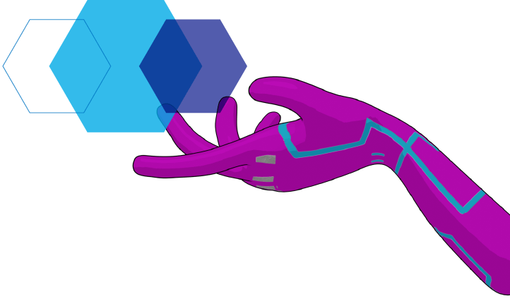 Blog XEC Token Hand Graphic