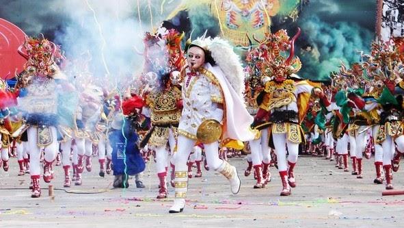 parade au carnaval d'oruro