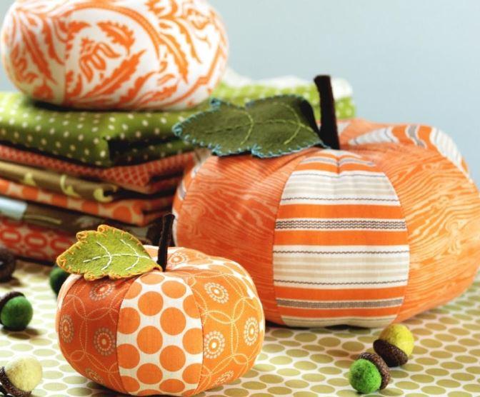 Quilted Pumpkins