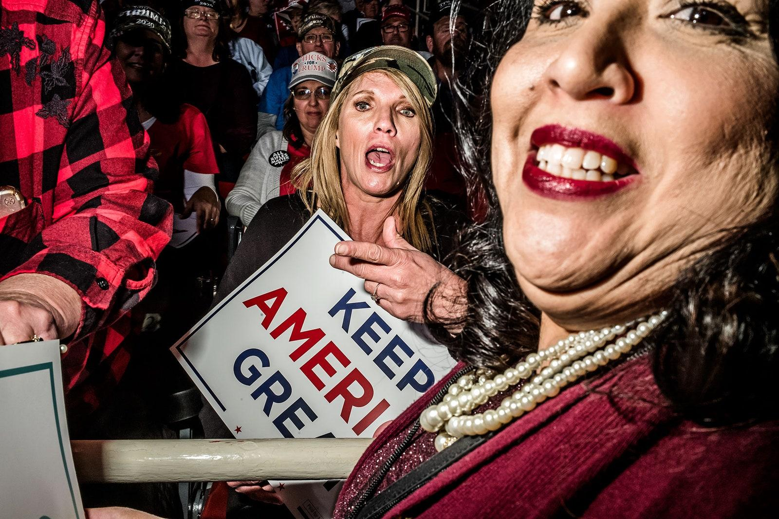 Inside the Cult of Trump His Rallies Are Church and He Is the Gospel