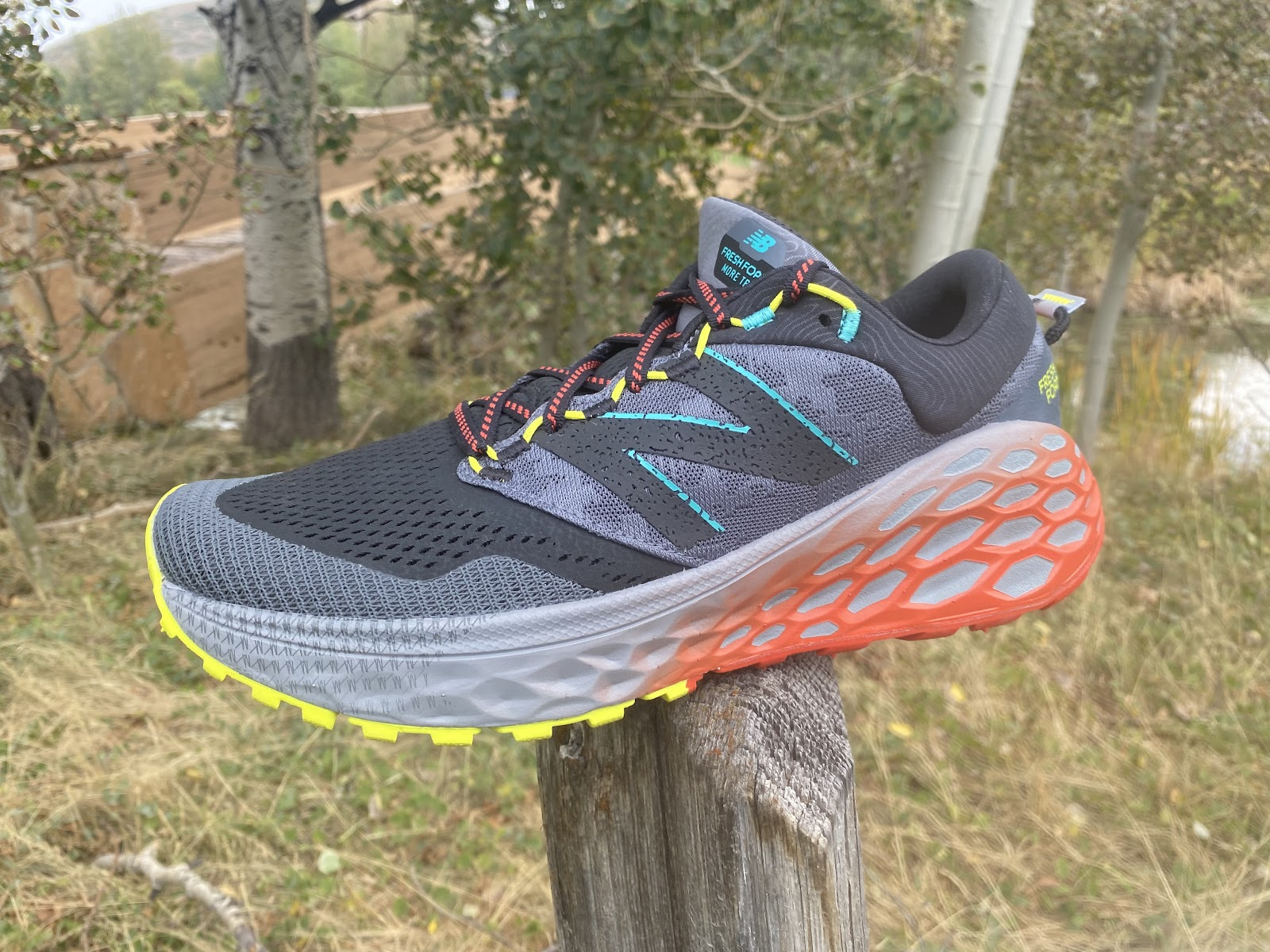 rutina Máquina de recepción fuego  Road Trail Run: New Balance Fresh Foam More Trail v1 Multi Tester Review:  Comfortable, Plush,Max Cushion Trail Cruiser