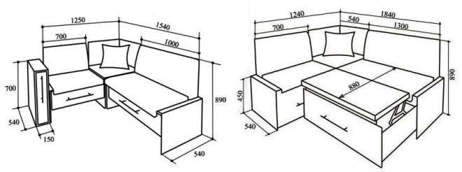 Угловой диван из модулей своими руками
