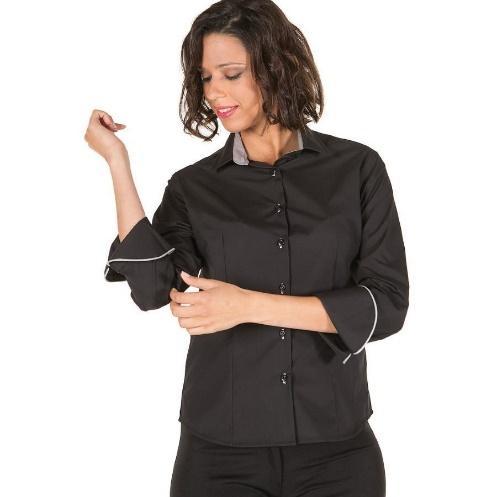 Camisa de mujer de popelín