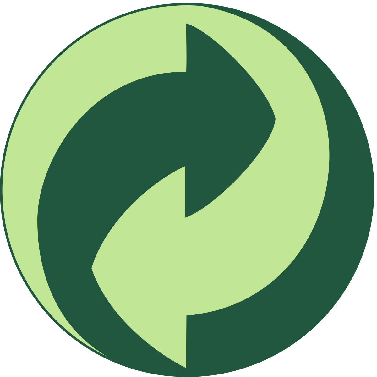 Germany's Green Dot Symbol