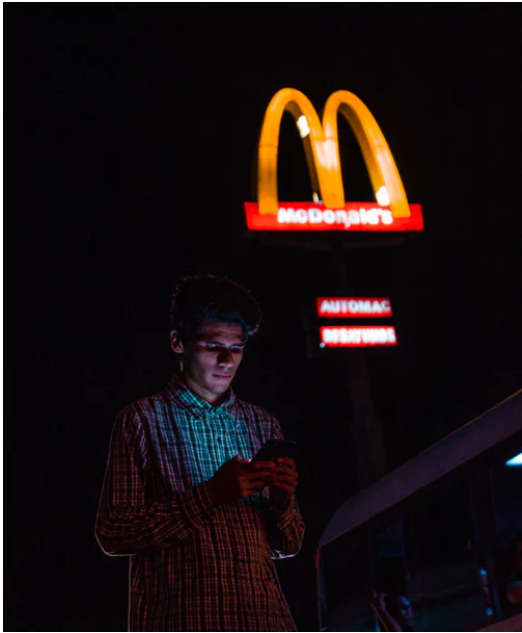 McDonald's tests ordering ahead