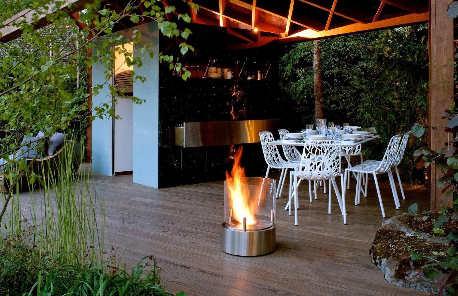 Tag naturen til terrassen for en harmonisk atmosfære